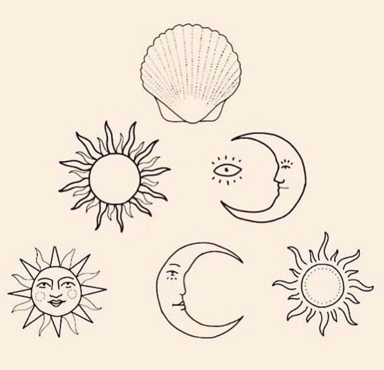 This is an image of Hilaire Tiny Sun Drawing