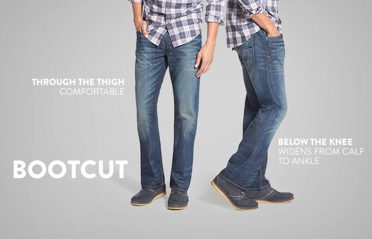 Bootcut: True to its name, this cut works best with boots thanks ...