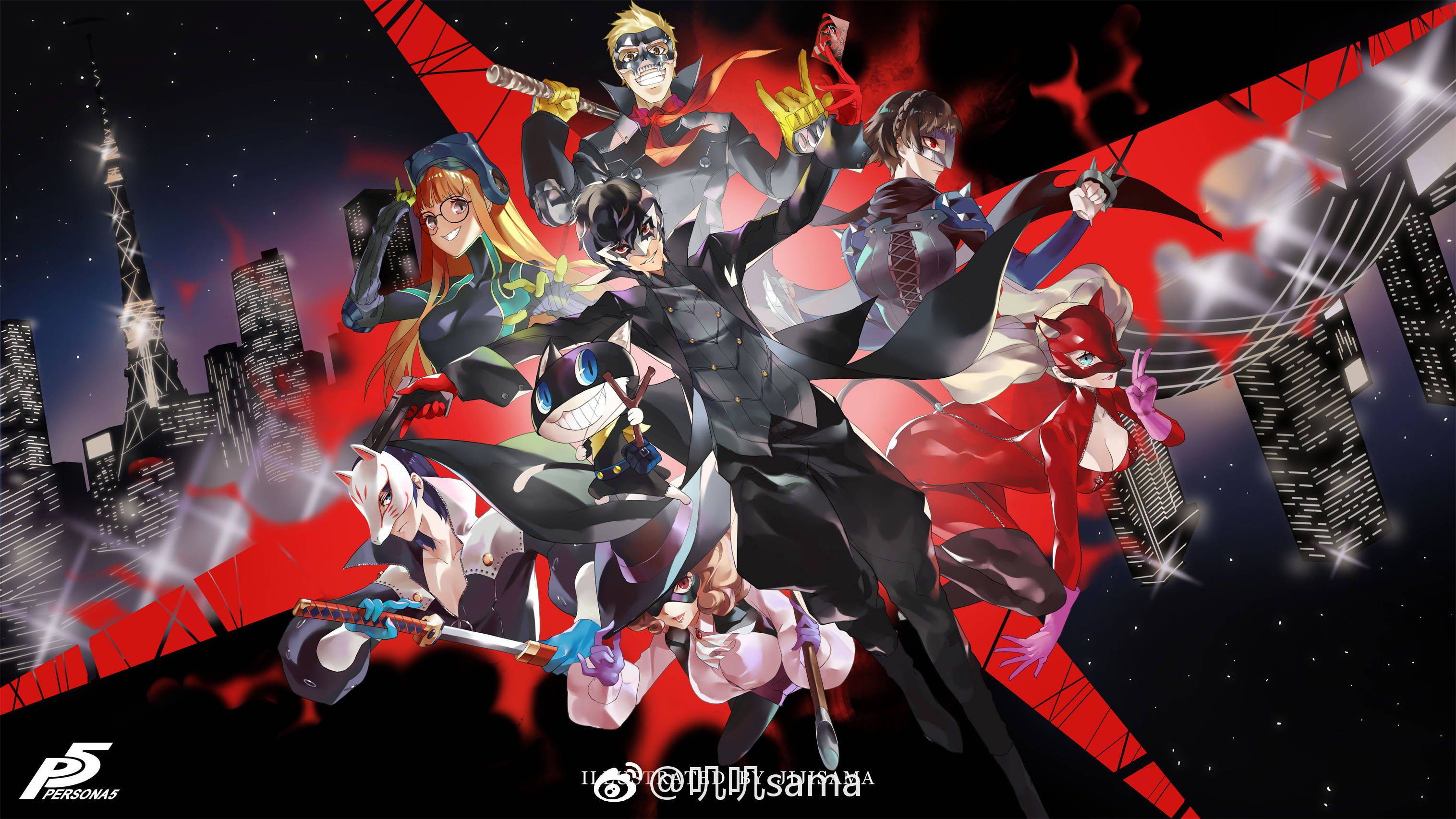 Pin By Oi Ling Wong On Z 2018女神異聞錄 Persona 5 Anime Persona