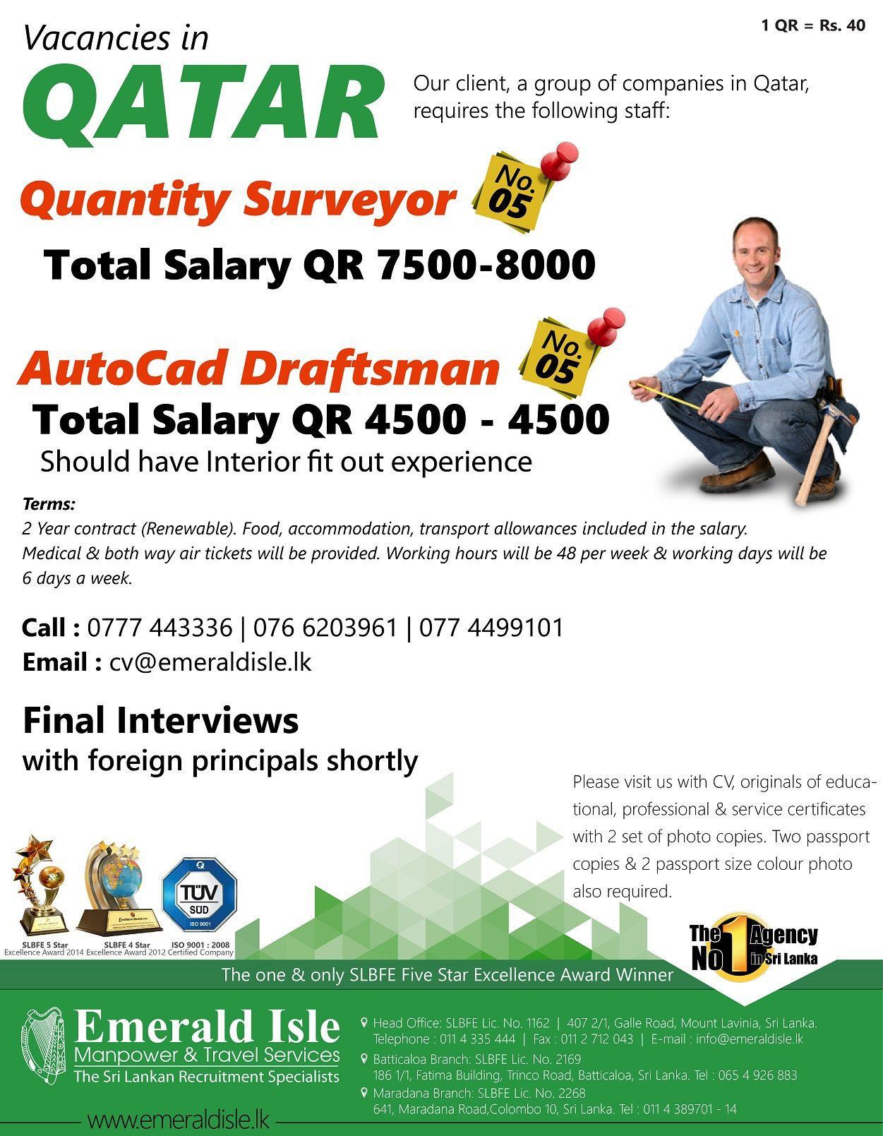 Foreign Jobs Foreign Employment Foreign Vacancies Group Of