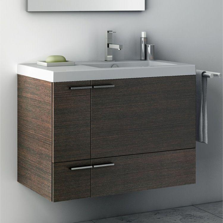 Bathroom Vanity, ACF ANS20, 31 Inch Bathroom 2 Piece Vanity Set ANS20