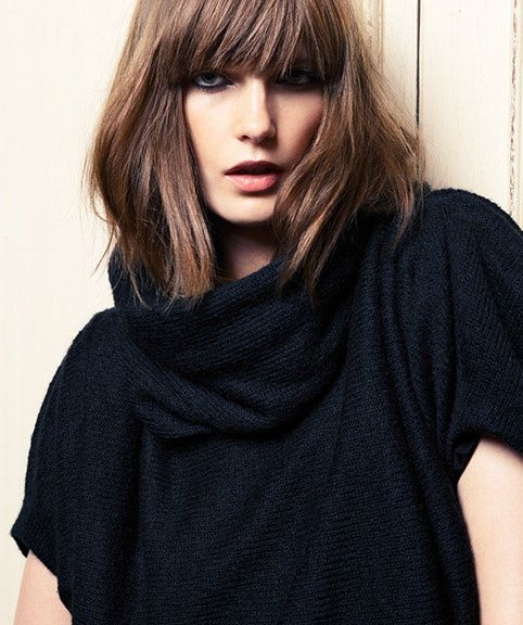 Bob Frisuren 2014 Another, Shoulder Length Bob With Fringe (mit Bildern ...