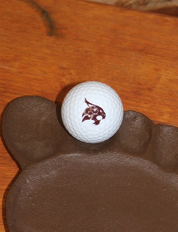 Hit the course with your new TXST golf ball! Go Bobcats!