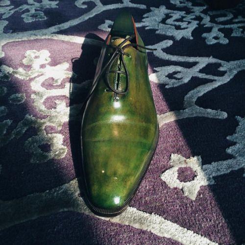 Berluti #masonandsmith #shoeshine #shoes #berluti #patina