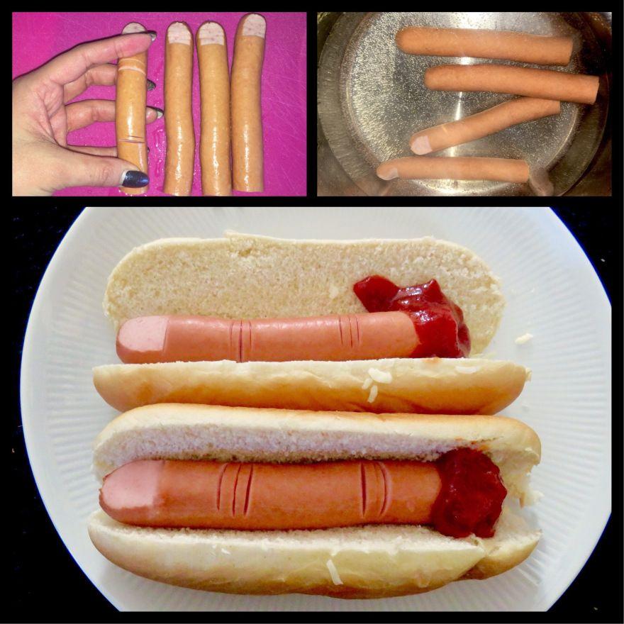 Halloween Hot Dog (mit Bildern) Halloween essen