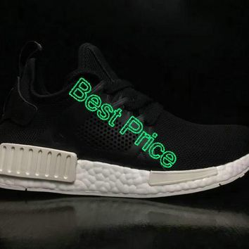 4db519739a26b 2018 Legit Cheap Unisex Adidas Originals NMD XR1 Leather Cage Core Black  White BY9921 sneaker