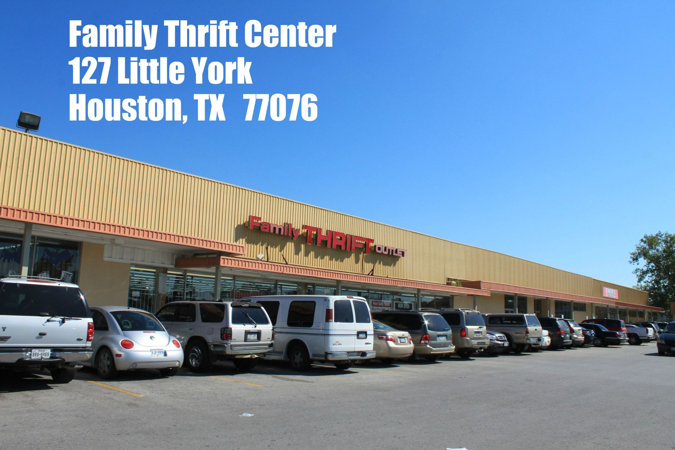 Family Thrift Center Outlet Thrifting Thrift Outlet The Neighbourhood