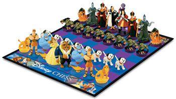 Disney Version Board Games Disney Chess Set Collector S