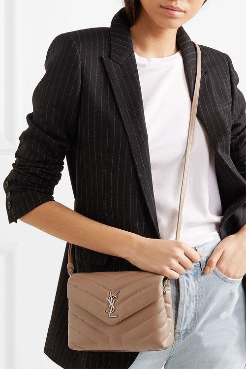 c4832a0d8c7 Saint Laurent Toy Loulou Leather Shoulder Bag   City of Kenmore ...