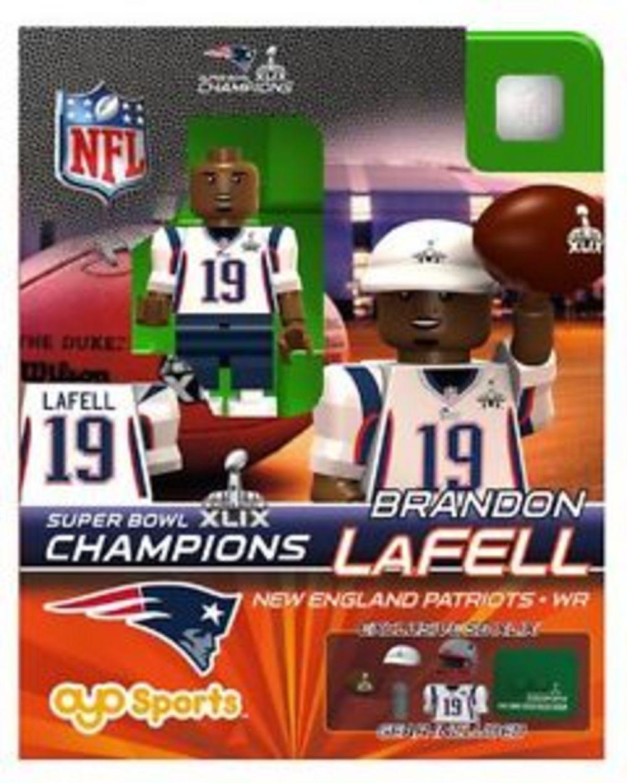 New England Patriots OYO Super Bowl 49 Champions Brandon Lafell ...