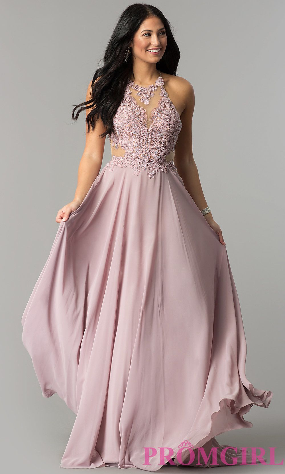54eebc83068 Promgirl Long Prom Dress With Lace Up Back | Huston Fislar Photography