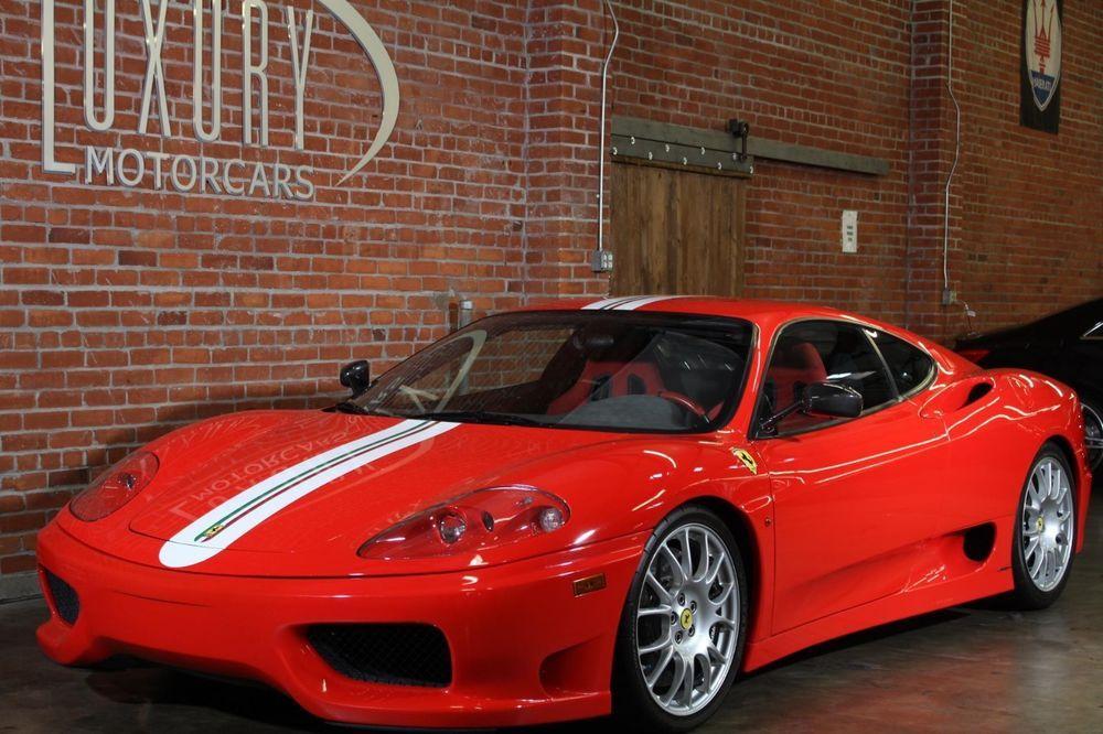 2004 Ferrari 360 Challenge Stradale 2004 Ferrari 360 Challenge