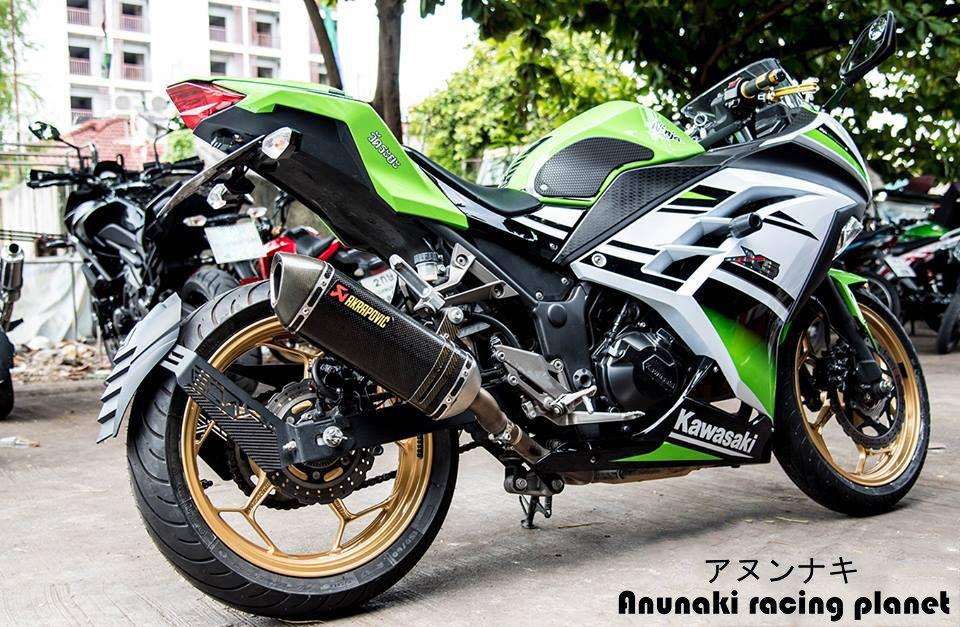 Splashguard for Kawasaki Ninja 300 & 250 + Z300 & Z250, info: http