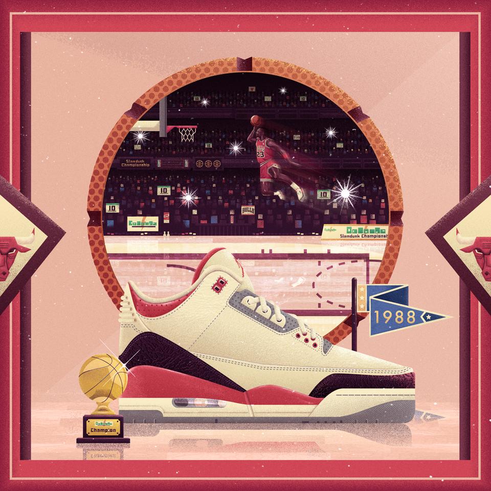 다음 @Behance 프로젝트 확인: \u201cIconic Sneakers #03\u201d https://www.behance.net/gallery/47988031/Iconic-Sneakers-03