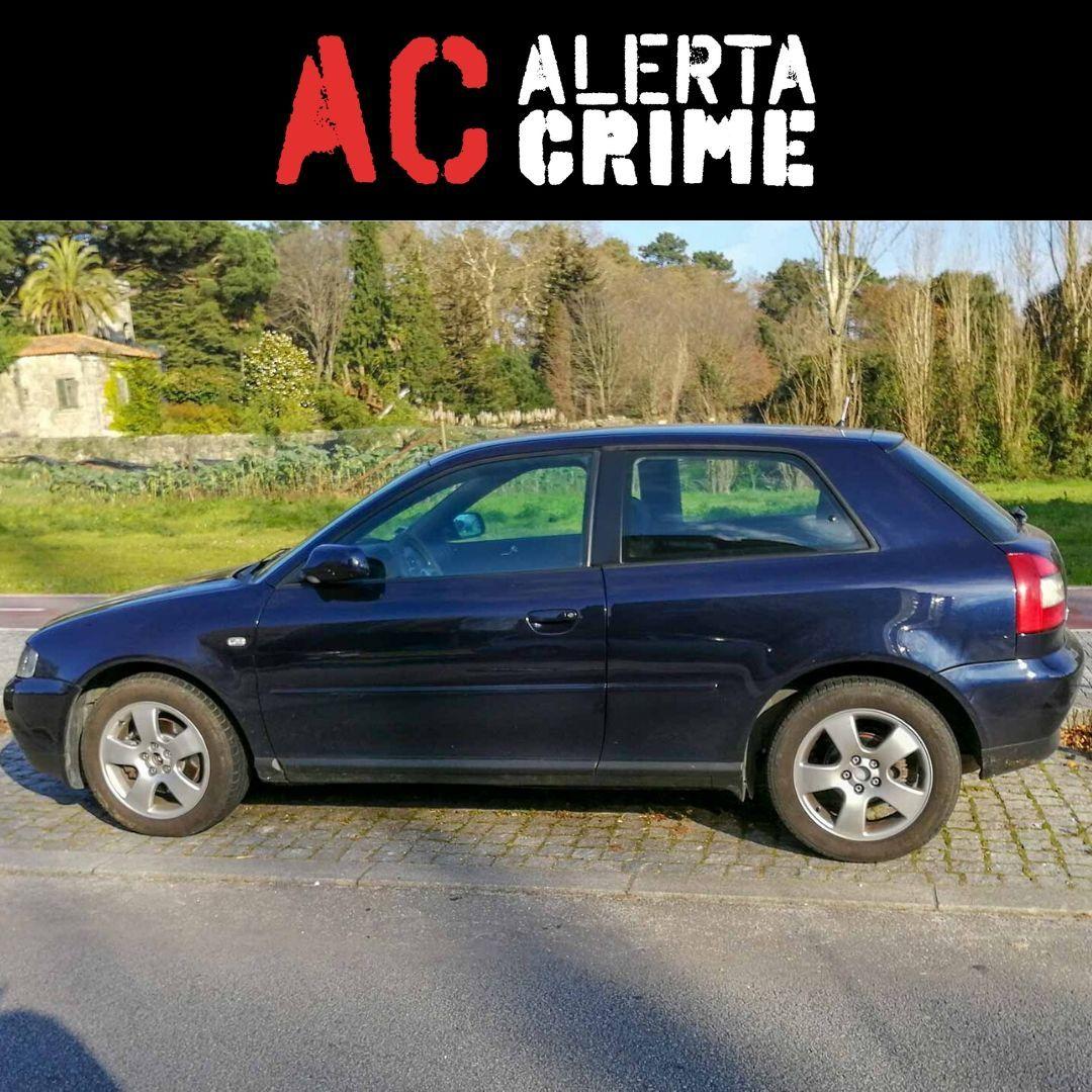 Audi A3 furtado na Prelada, Porto no dia 10 de Dezembro. 07-BA-41  A3,Furto,Hatchback / Utilitár
