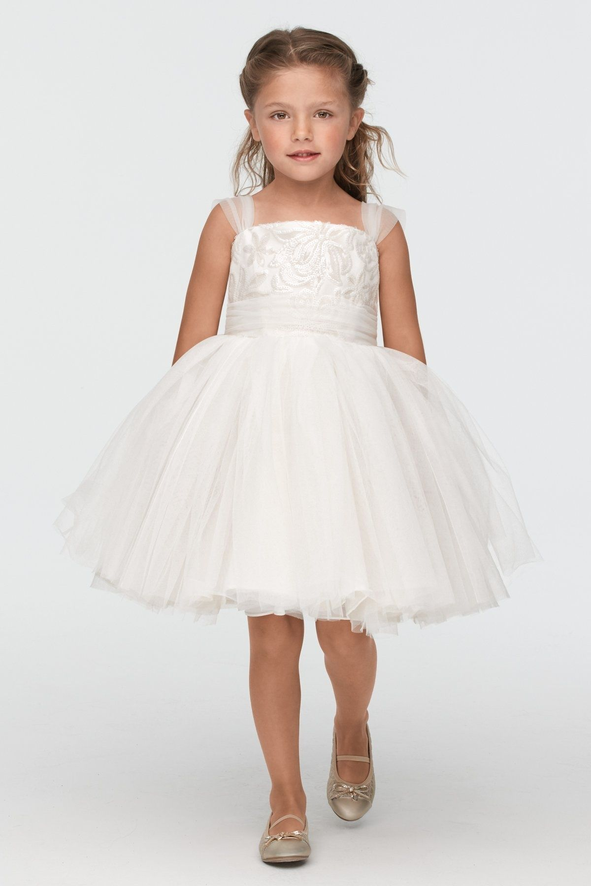 Beach wedding flower girl dresses  Seahorse flower girl collection This gorgeous little collection of