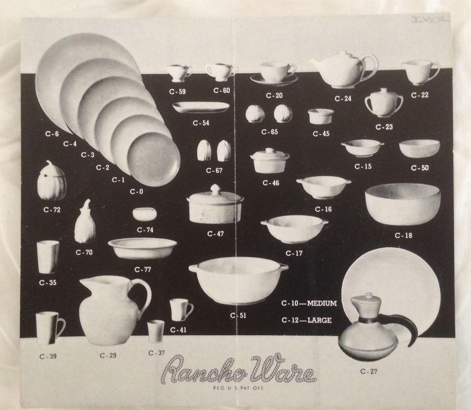 Gladding mcbean 1939 brochure for catalina rancho