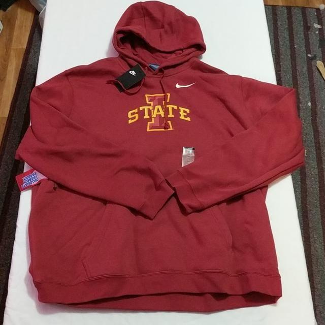 4a02fe0ad4e2 Nike Iowa State Cyclones Hoodie Sweatshirt Sz 3XL New http   lonesole.com