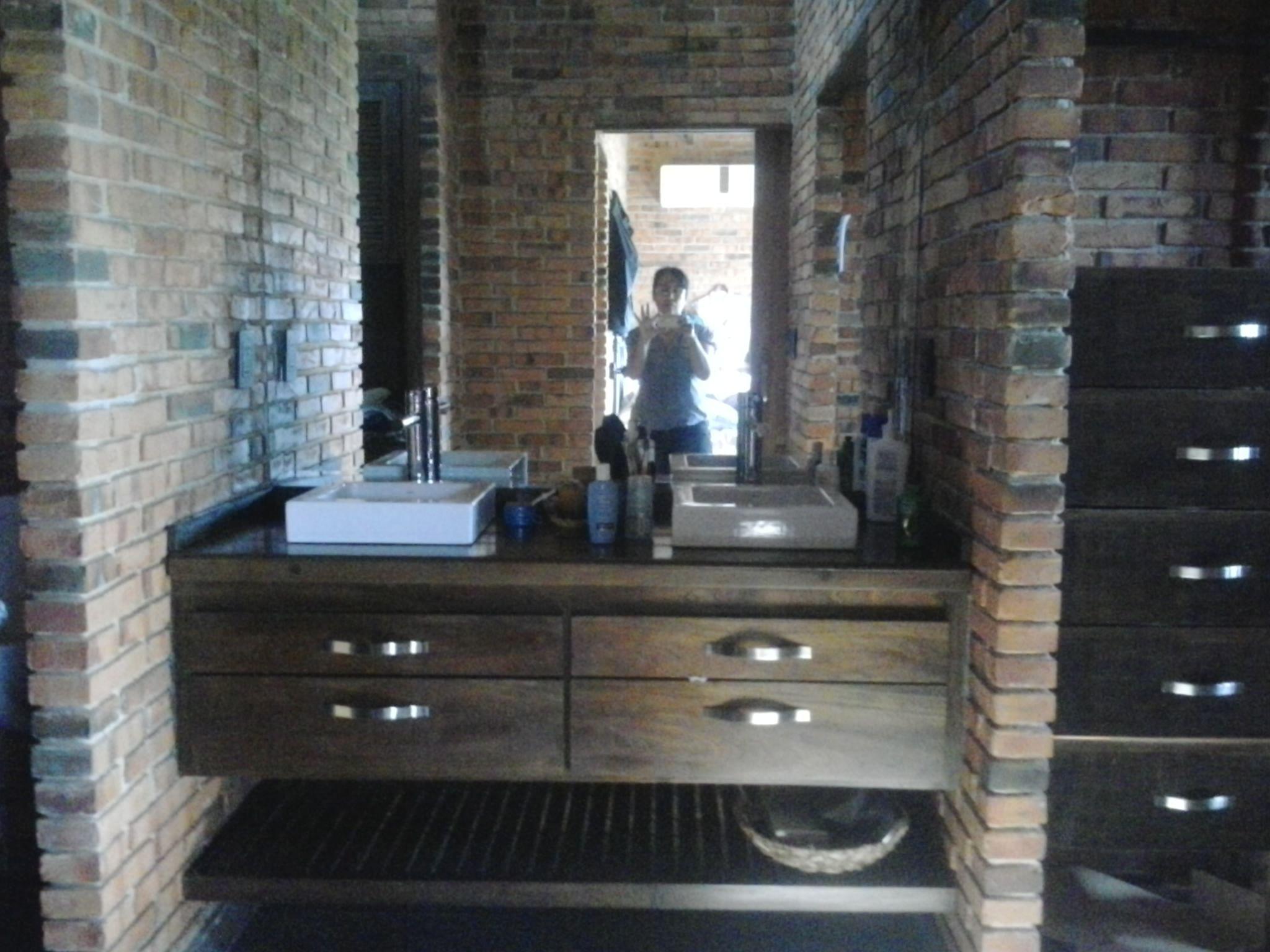 Mueble ba o lavatorio lavamanos de sobreponer ba o for Muebles para lavamanos