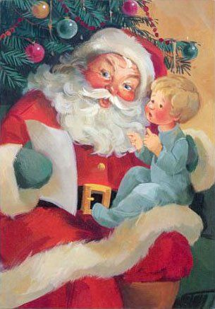 Image result for free vintage santa claus pictures