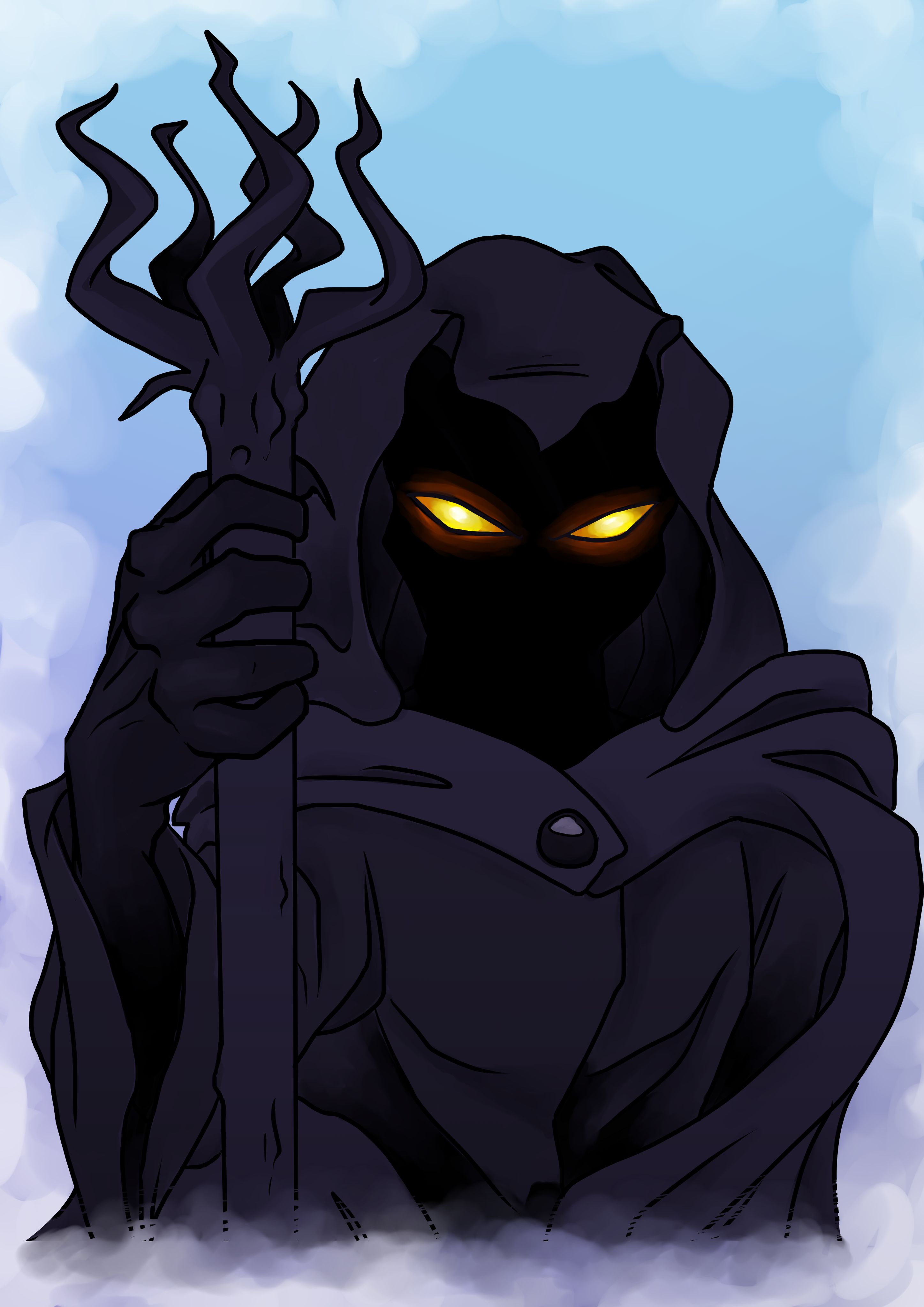 Evil Christmas Characters.The Guardian Of The Mountains The Evil Villain From The