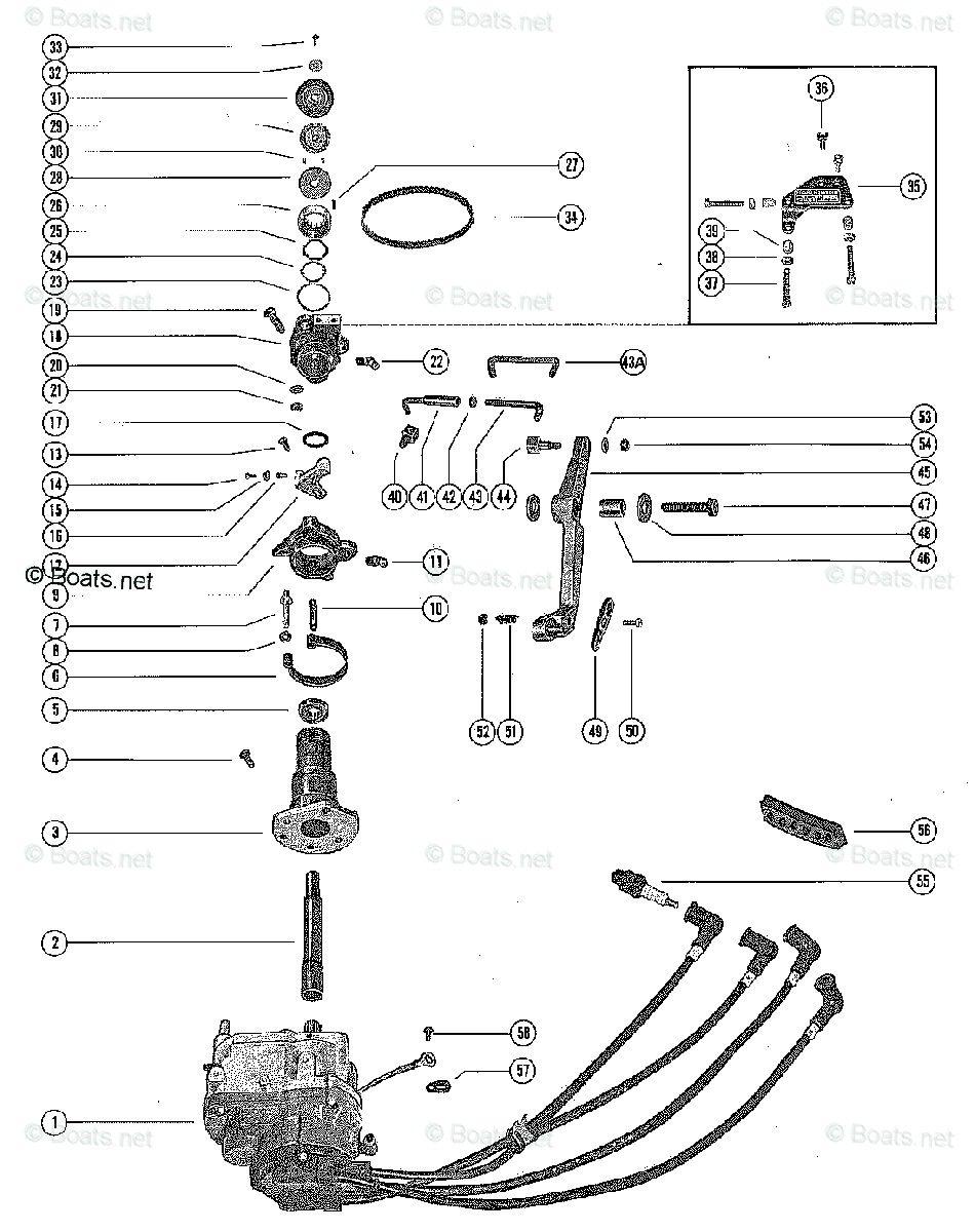 Mercury Mark 55e Wiring Diagram In 2020 Wire Mercury Ignition Coil