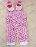 Как вязать брюки детские