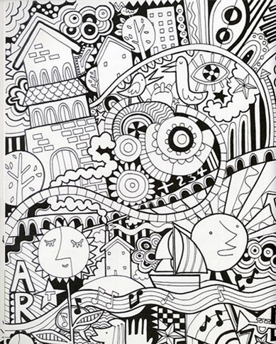 Usborne See Inside: Drawing, doodling and colouring | Drawing ...
