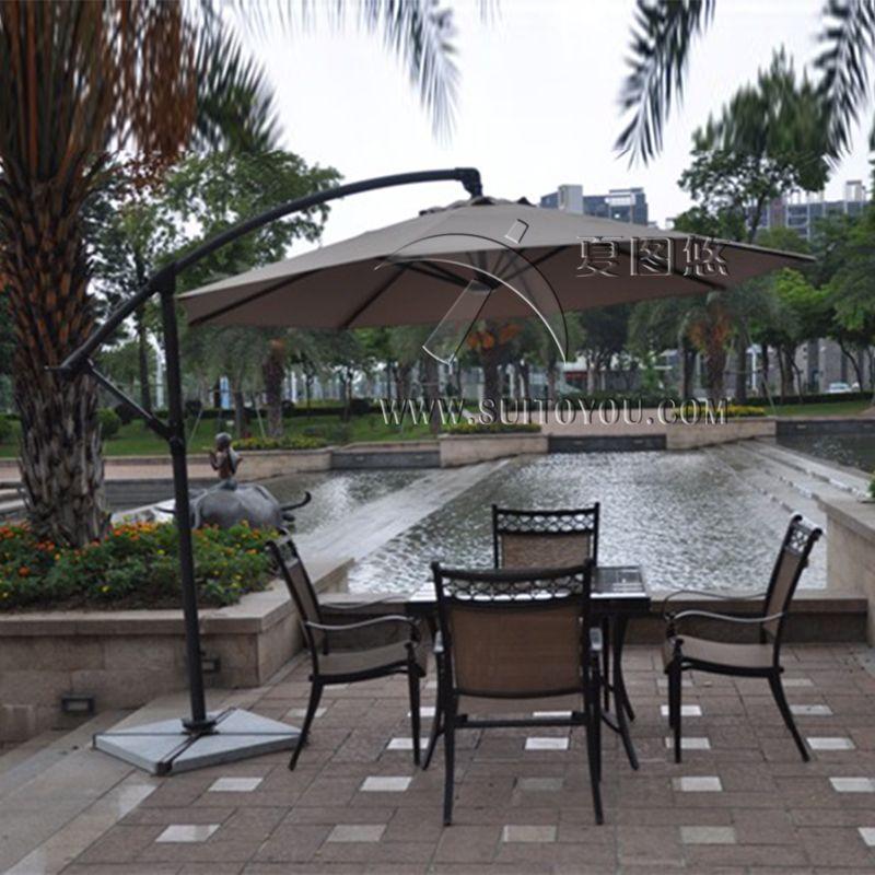 3 Meter Aluminum Outdoor Sun Patio Umbrella Parasol Garden