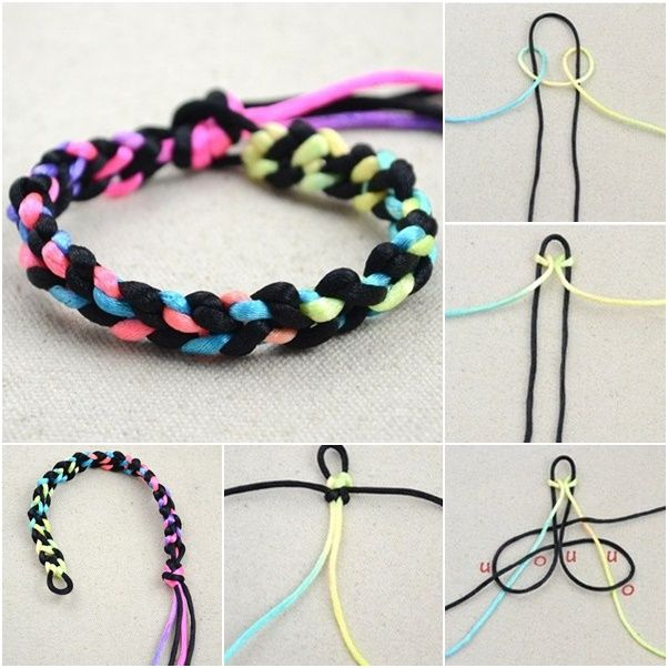 Cheap And Easy Bracelet Crafts Google Search Kawaii