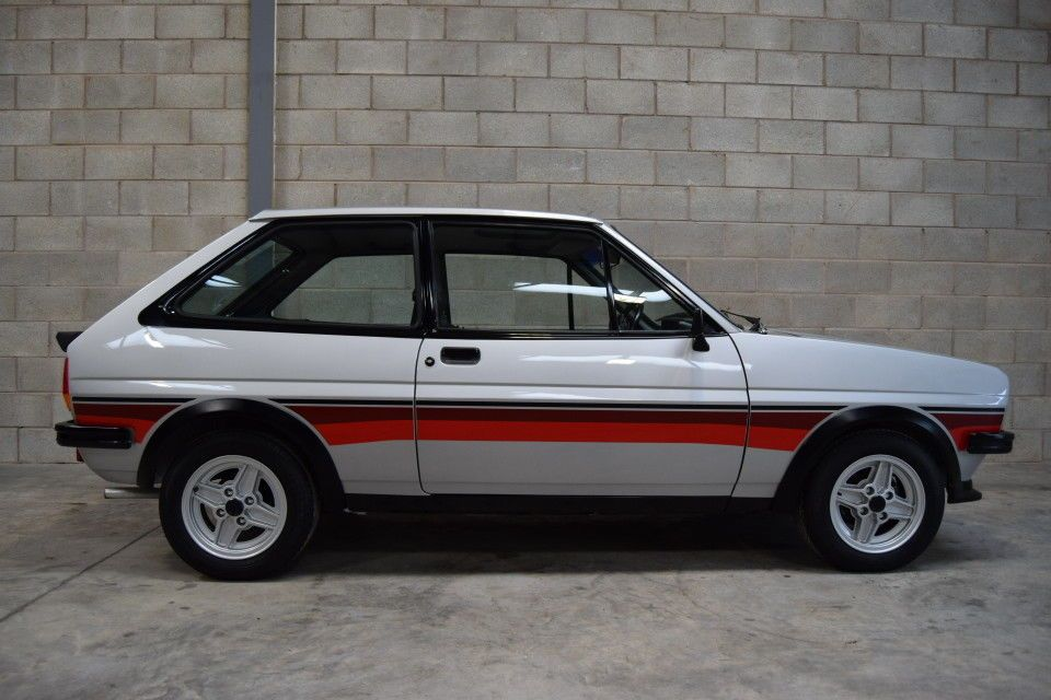 Now Sold Mk1 Ford Fiesta Supersport Just 28896 Miles Stunning Example Supersport Ford Fiesta Mk1
