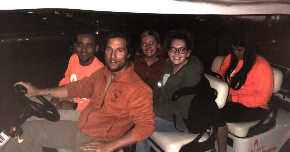 Matthew mcconaughey gives university of texas students a