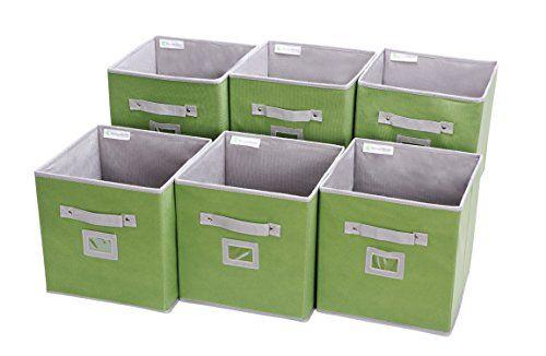 Robot Check Fabric Storage Bins Cube Storage Storage Bin