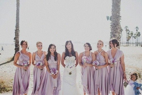 Lowcountry Wedding Bridesmaids Dresses Two Birds