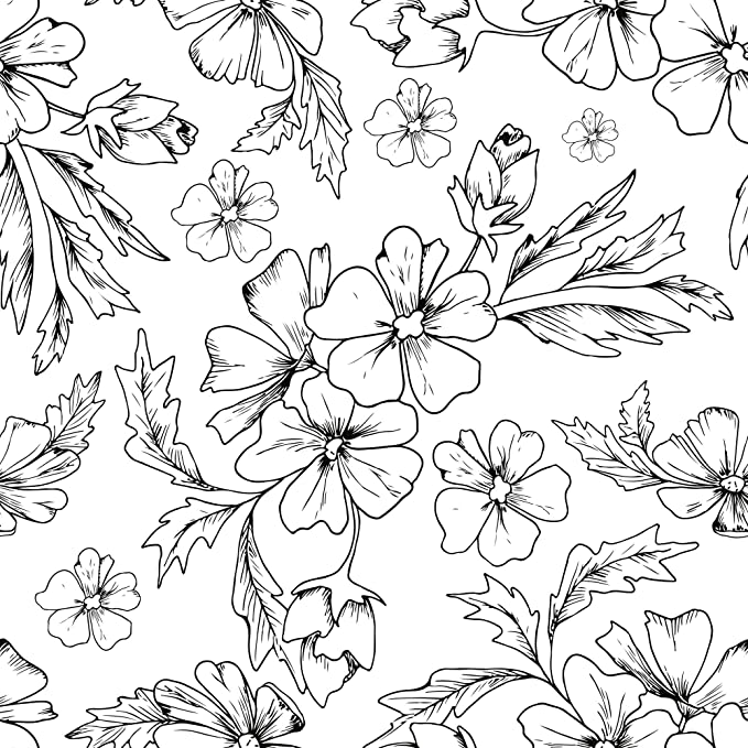 Wallsbyme Peel And Stick Black And White Textured Floral Fabric Removable Wallpaper 6488 In 2020 Black Flowers Wallpaper Modern Floral Wallpaper White Flower Wallpaper