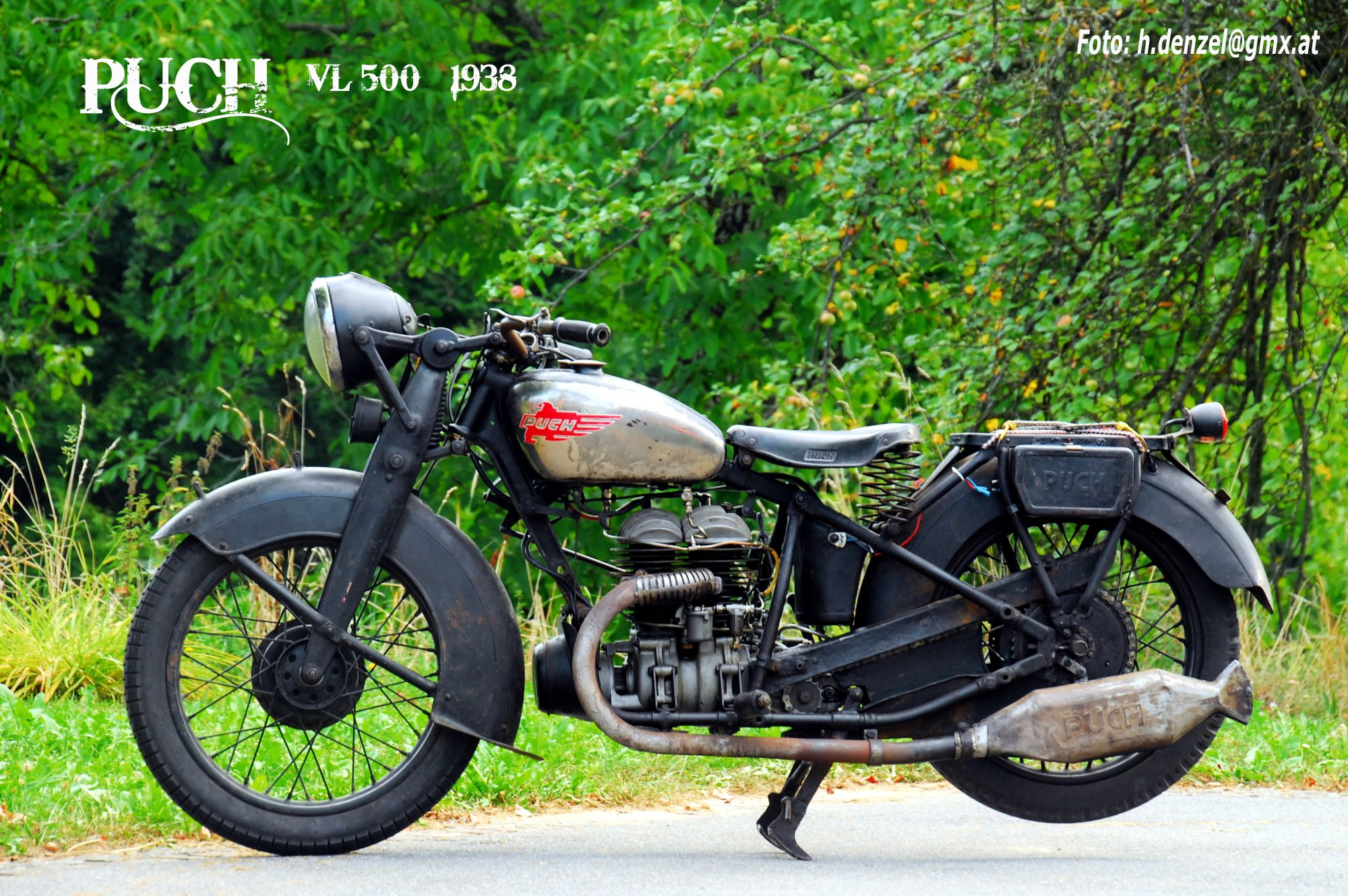 puch 500 vl 1938 benzinradl 39 n fahrzeuge motorrad und. Black Bedroom Furniture Sets. Home Design Ideas