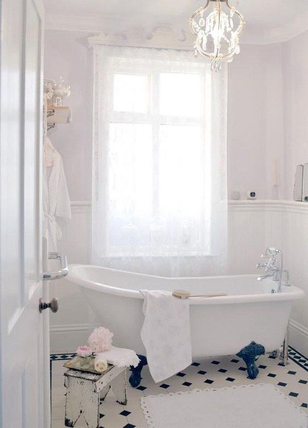 26 Adorable Shabby Chic Bathroom Decor Ideas Ideas For Wilmett
