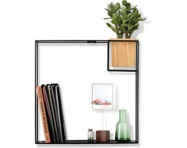 Umbra Cubist Wandrek : Wandrek cubist large zwart umbra kopen woonwebwinkel lil