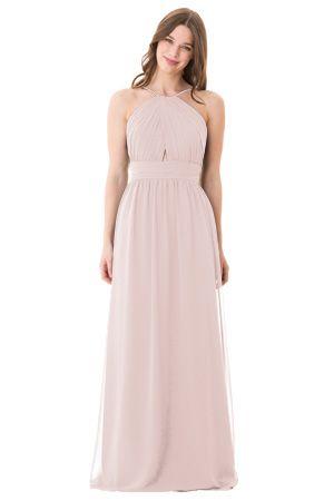 f52a62b2416 bari jay bridesmaid dress in metallic rose gold