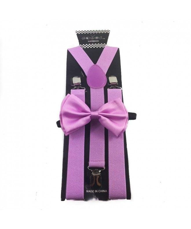 Awesome Lavender Purple Wedding Accessories Adjustable Bow Tie