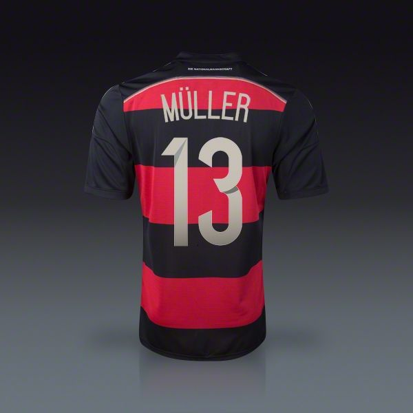 separation shoes cc549 b6cc6 adidas Thomas Muller Germany Away Jersey 2014 | Soccer ...