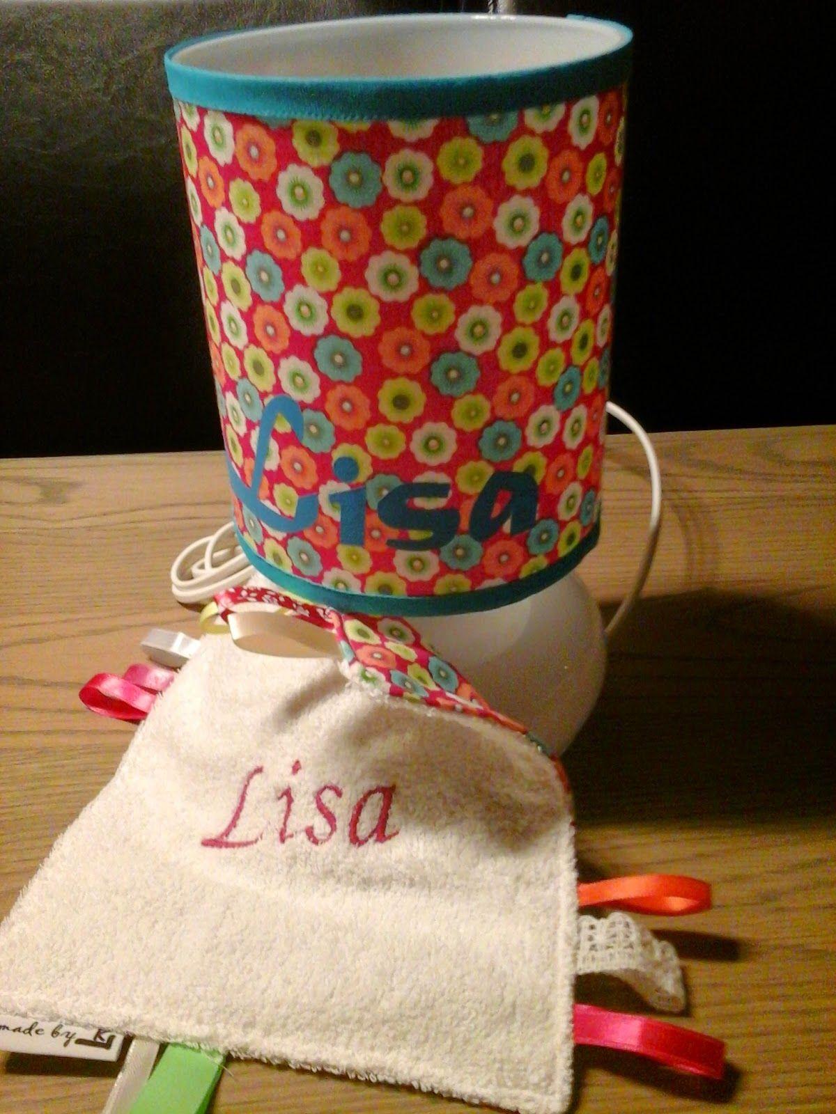 lampje en knisperdoekje voor Lisa