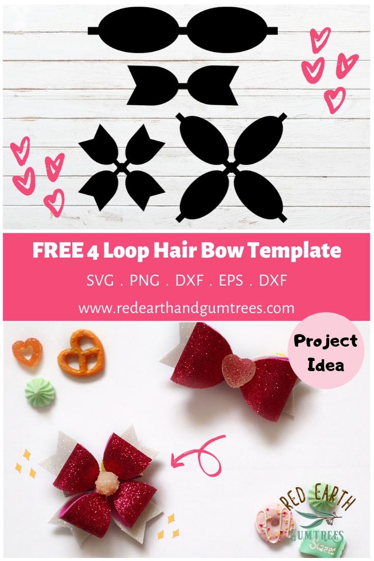 Free Hair Bow Template For Cricut Free Hair Bow Template Pdf File Free Cricut Hair Bow Template Free 4 Loop Hair Bow Template Free Four Loop Hair Bow Templa Bow Template