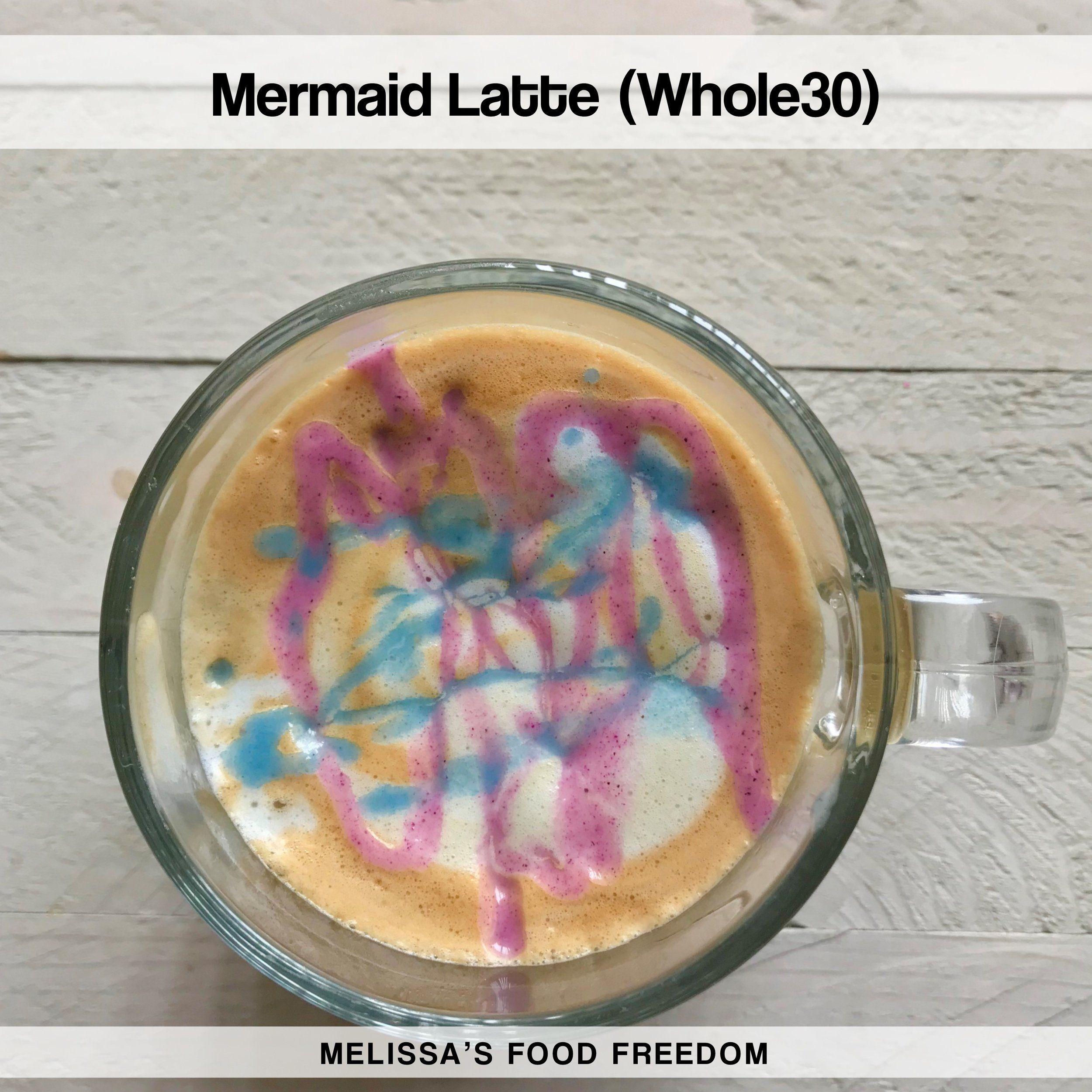 Mermaid Latte (Whole30)