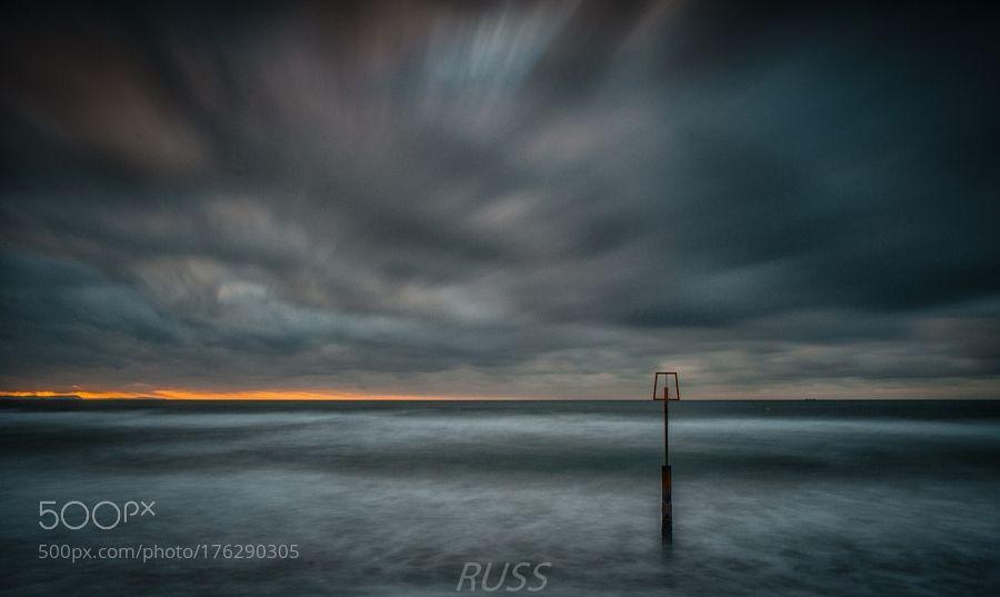 Sky on Fire by RussellClarke
