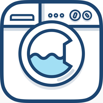 Ios App Icon Gallery Laundry Logo Laundry Shop Business Card Inspiration