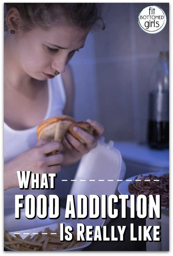 Find out what happened when a food addict hit rock bottom and decided she's worth fighting for, along with some tips and resources for food addiction!