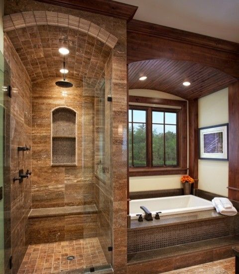 Glass Enclosed Shower Column Design, Pictures, Remodel, Decor and ...