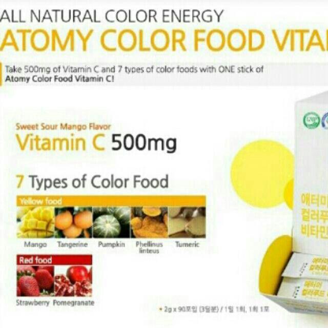 Atomy Vitamin C Atomy Vitamin C Why Is Vitamin C Essential 1