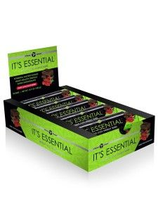 """Looking for a quick snack to boost your energy? It Works It's Essential Bars are for you. This delicious energy bar has powerful ancient grains to supercharge your weight loss results! Not your typical energy bar that is filled with sugar or tastes awful. It orks """"It's Essential""""bar is made with organic dark chocolate chips, organic coconut oil, goji berries, organic almond butter, fiber and other awesome ingredients that fills you up, curbs your appetite, gives you energy and taste great."""